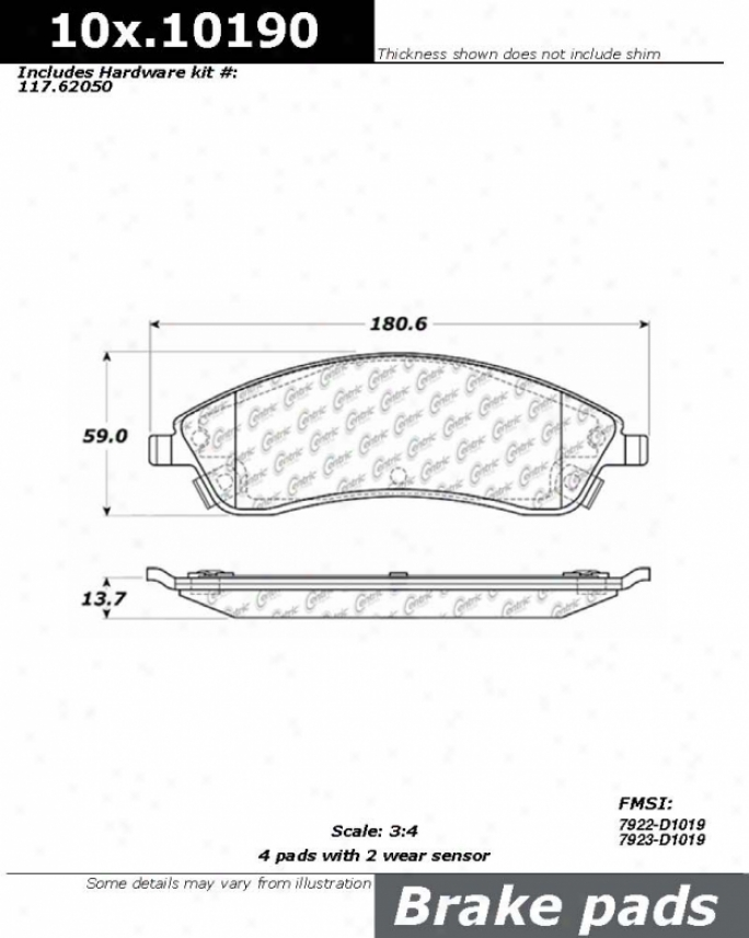 Centric Auto Parts 104.10190