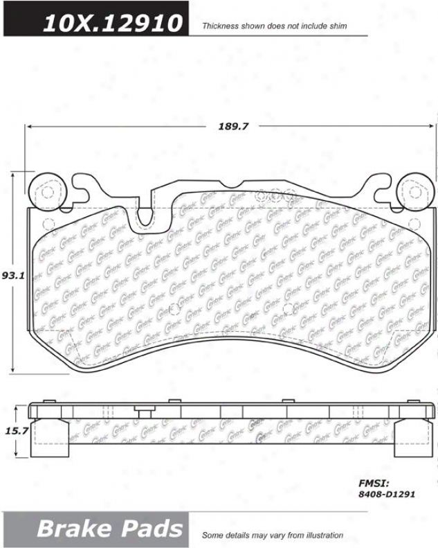 Centric Auto Parts 105.12910