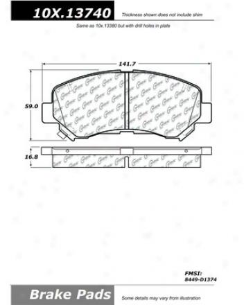 Centric Auto Parts 106.13740