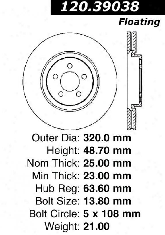 Centric Auto Parts 121.39038
