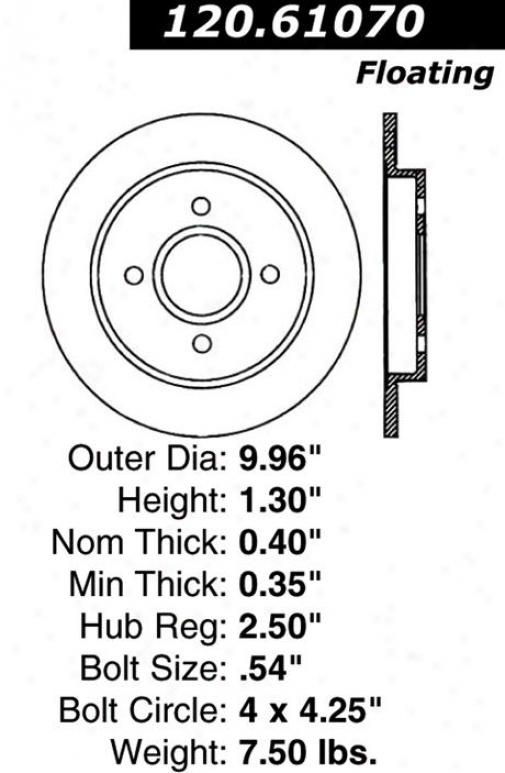 Centric Auto Parts 121.61070