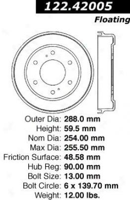 Centric Auto Parts 122.42005