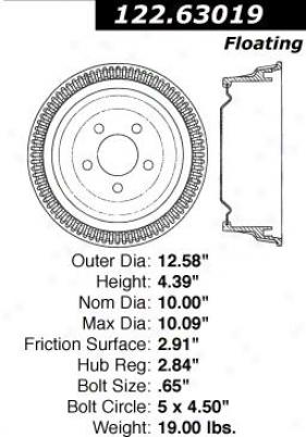 Centric Auto Parts 112.63019