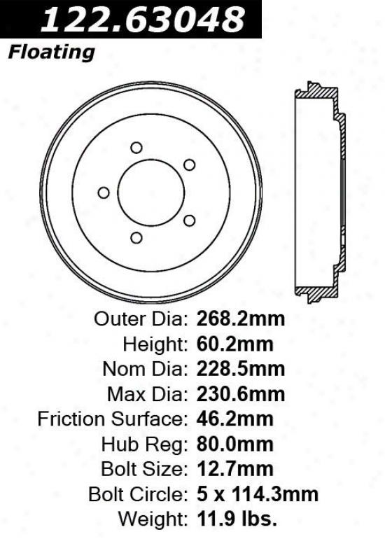 Centric Auto Parts 122.63048