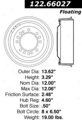 Centric Auto Parts 122.66027