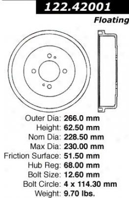 Centric Auto Parts 123.42001