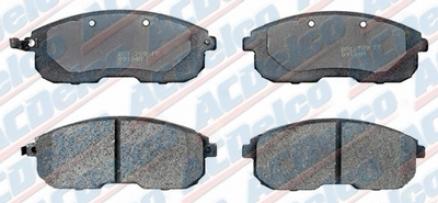 Acdelco Durastop Brakes 17d653 Nissan/datsun Parts