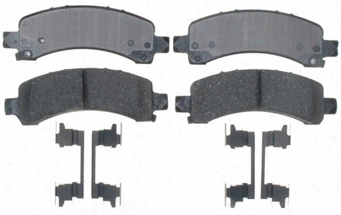 Acdelco Durastop Braked 17d974ch Chevy Md Trk Parts