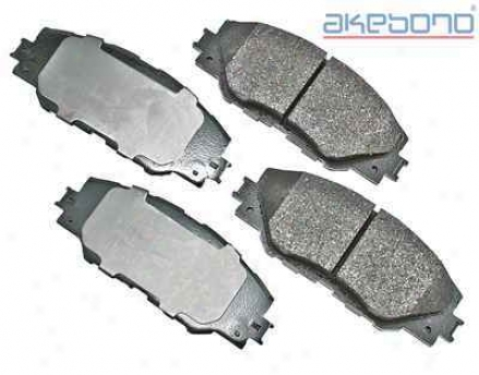 Akebono Act1211 Toyota Parts