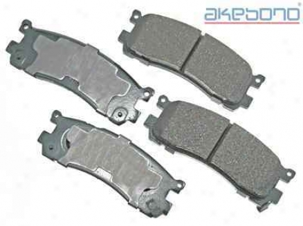 Akebono Act553 Toyota Parts