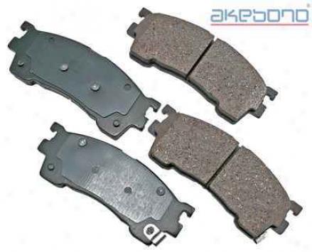 Akebono Act637 Dodge Parts
