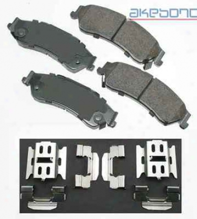 Akebono Act729 Chrysler Parts