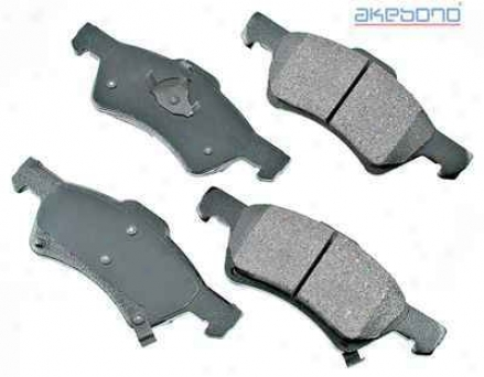 Akebono Act857 Dodge Parts