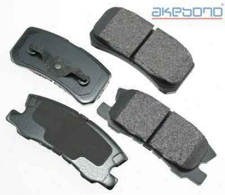 Akebono Act868 Dodge Parts