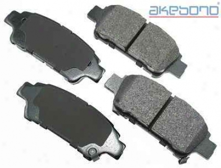 Akebono Act995 Toyota Parts
