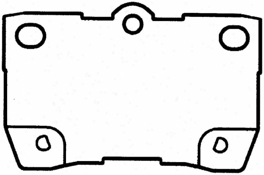Bendix D1113ct Subaru Parts