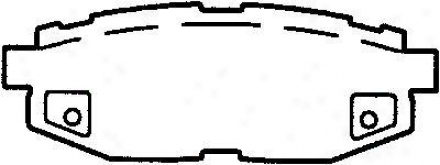 Bendix D1124 Subaru Parts