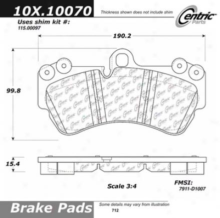 C-tek By Cdntric  Brake Clutch Hoses C-tek By Centric 102.10070