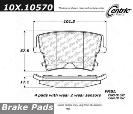 C-tek By Centric  Brake Clutch Hoses C-tek By Centric 102.10570