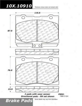 C-tek By Centric  Brake Clutch Hoses C-tek By Centrkc 102.10910
