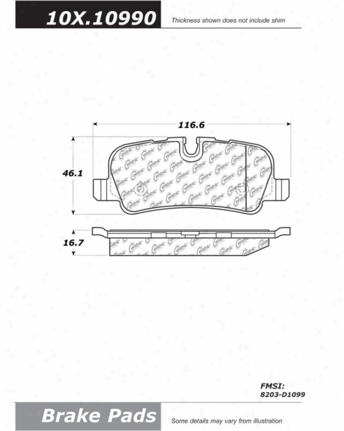 C-tek Bg Centric  Brake Clutch Hoses C-tek By Centric 102.10990