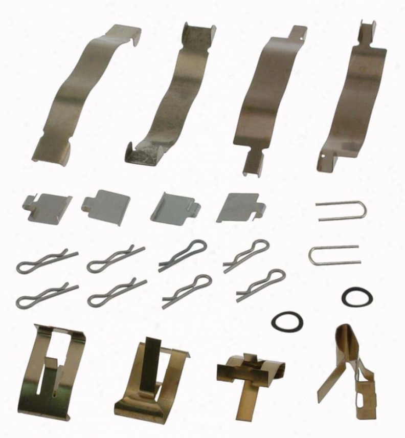 Carlson Qualify Brake Parts 13116 Volkswagen Brake Hardware Kits
