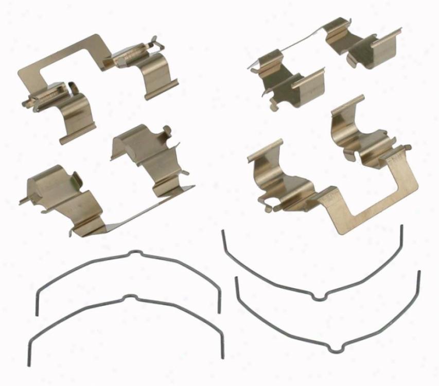 Carlson Quality Brake Parts 13214 Acura Parts