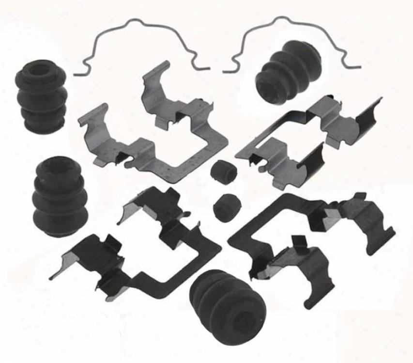 Carlson Quality Brake Parts 13302q Subsru Parts