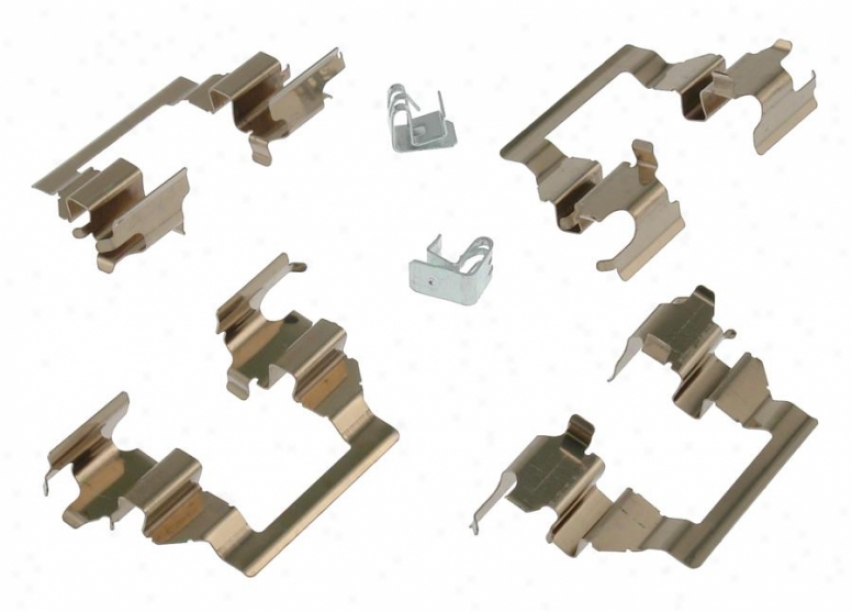 Carlson Quality Brake Parts 13327 Nissan/datsun Brke Hardware Kits