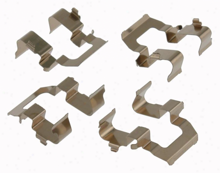 Carlson Quality Brake Quarters 13337 Mitsubkshi Thicket Hardware Kits