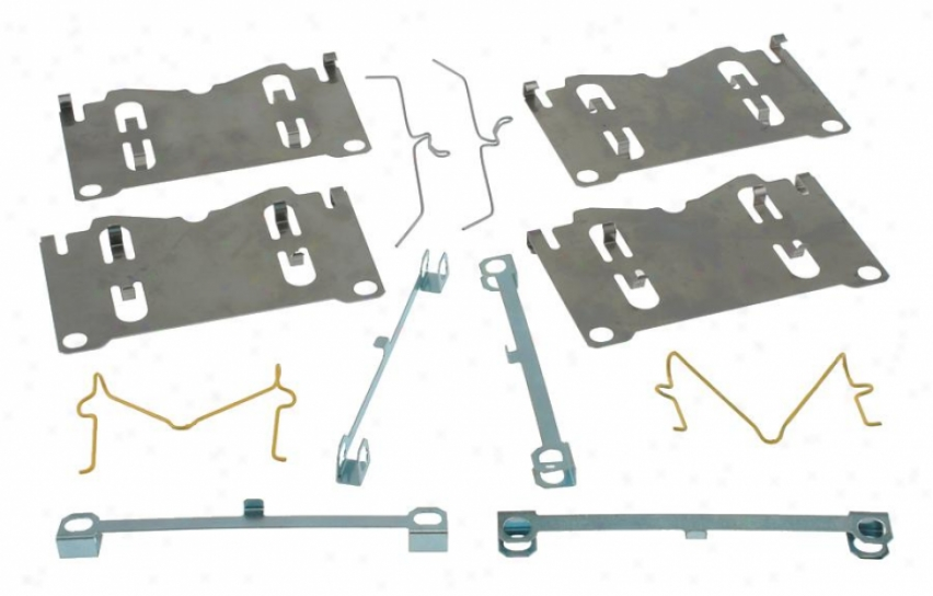 Carlson Quality Brake Parts 13345 Mazda Brake Hardware Kits