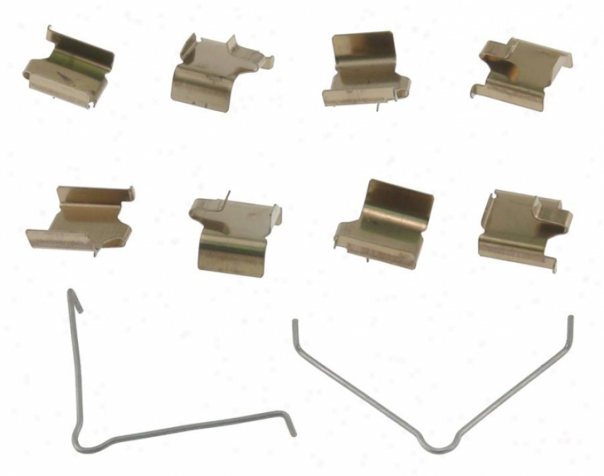 Carlson Quality Brake Parts 13346 Honda Brake Hardware Kits