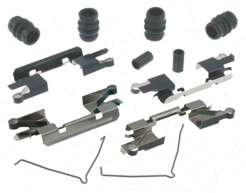 Carlson Quality Brake Parts 13419q Toyota Brake Hardware Kits