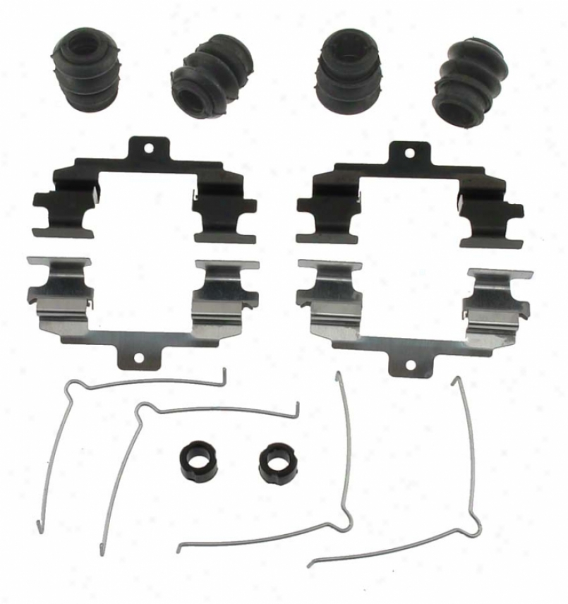 Carlson Disposition Thicket Parts 13562q Mercedes-benz Brake Hardware Kits