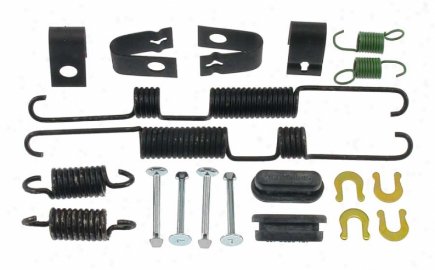 Carlson Quality Brake Parts 17028 Volkswagen Brake Hardware Kits