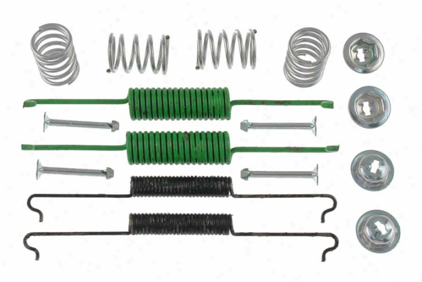 Carlson Quality Brake Parts 17162 Volkswagen Thicket Hardwqre Kits