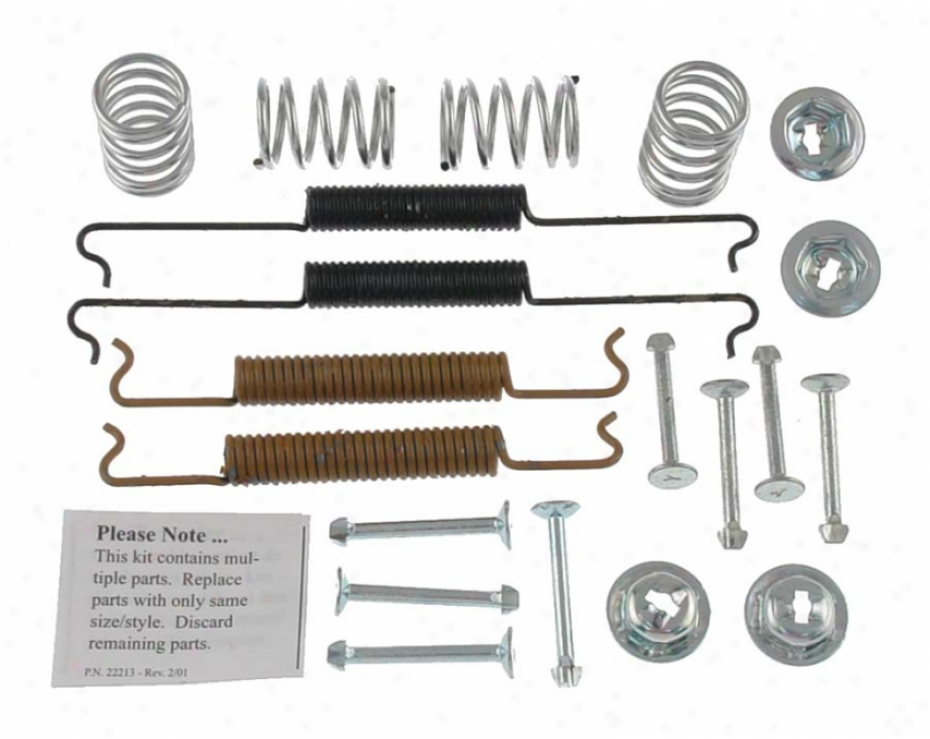 Carlson Quality Brake Parts 17179 Volkswagen Brake Hardware Kits