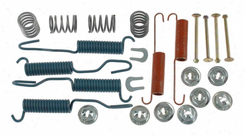 Carlson Quality Brake Parts 17213 Toyo5a Brake Hardware Kits