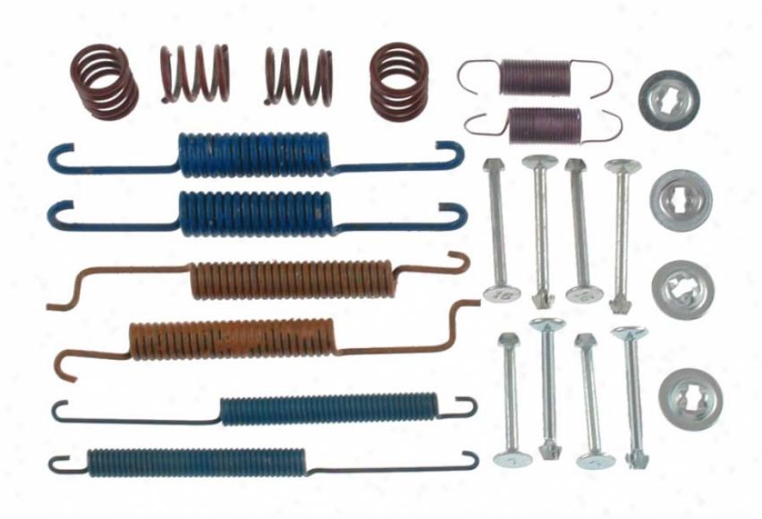 Carlson Quality Brake Quarters 17241 Volkswagen Brake Hardware Kits