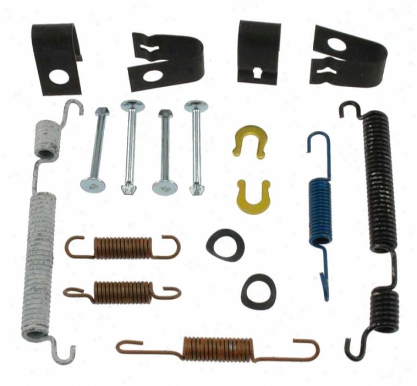 Carlson Quality Brake Parts 17279 Isuzu Brake Hardware Kits