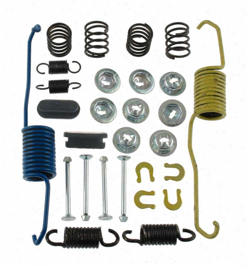 Carlson Quality Brame Parts 17287 Subaru Brake Hardware Kits