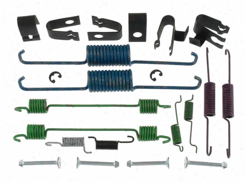 Carlson Quality Brake Parts 17336 Mazda Thicket Hardwrae Kiys