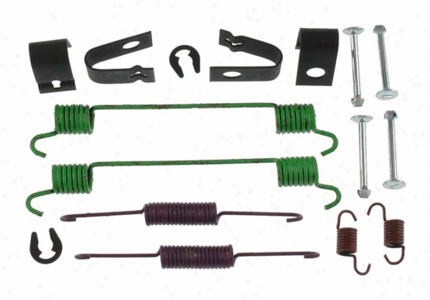 Carllson Quality Brake Parts 17356 Chrysler Brake Hardware Kits