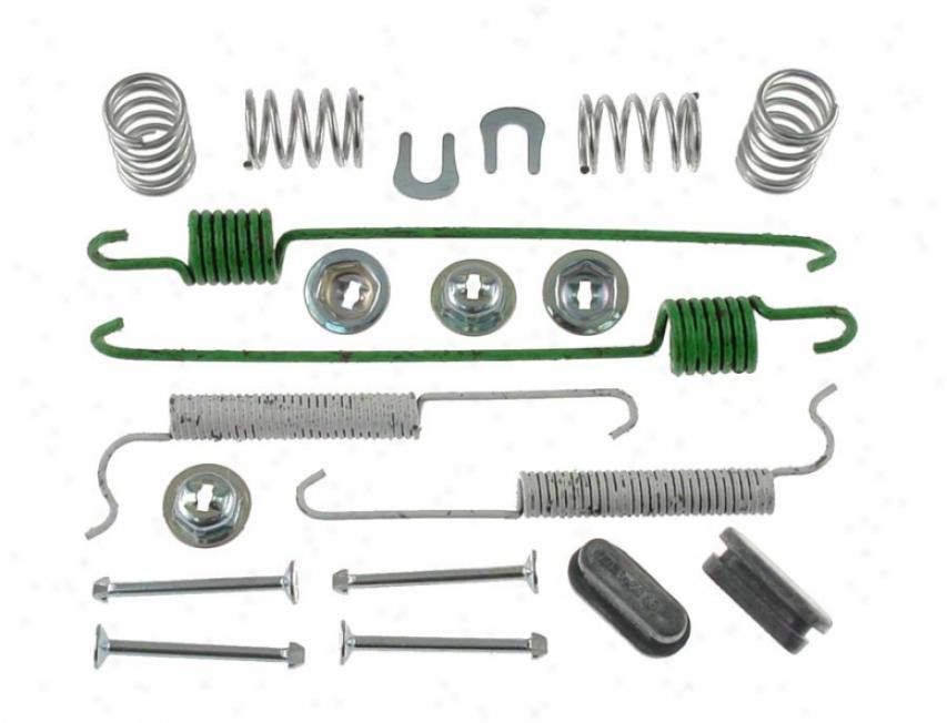 Carlson Quality Thicket Parts 17361 Nissan/datsun Brake Hardwaf Kits
