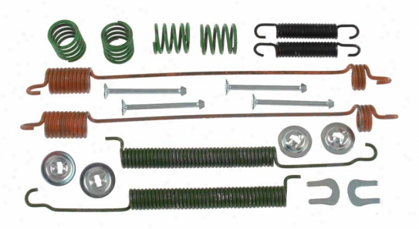 Carlson Quality Brake Parts 17363 Honda Parts