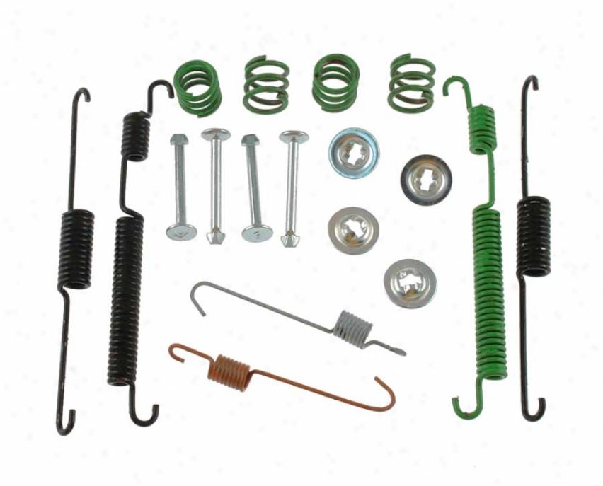 Carlson Quality Brwke Parts 17366 Toyota Brake Hardware Kits