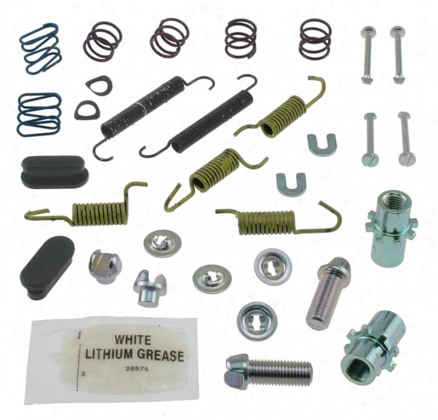 Carlson Quality Brake Parts 17388 Mitsubishi Brake Hardware Kits