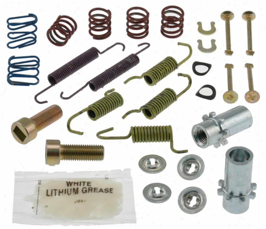 Carlson Quality Brake Parts 17392 Toyota Brake Hardware Kits