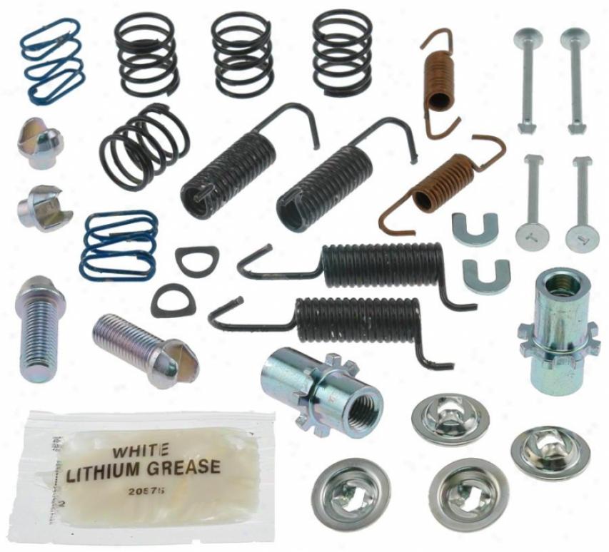 Carlson Quality Brake Parts 17396 Infiniti Brake Hardware Kits