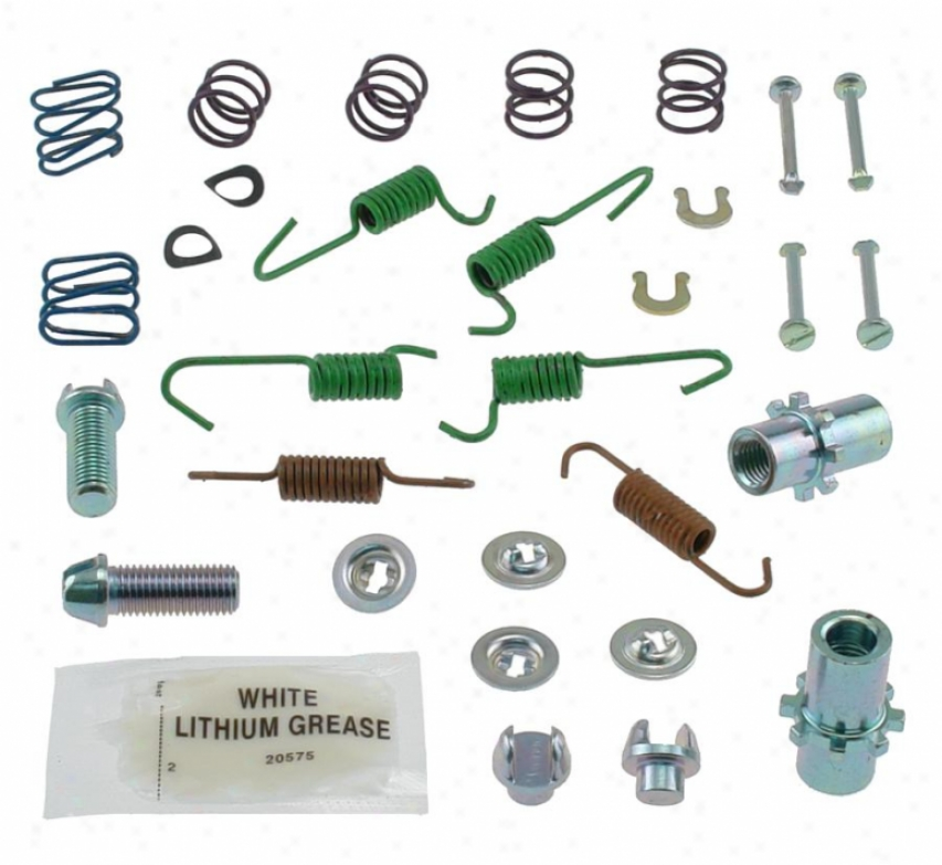 Carlson Quality Brake Parts 17418 Bmw Brake Hardware Kits